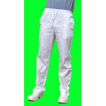 Pants offer elastic White