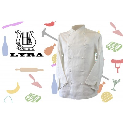 Jacket Chef Linen Double-Breasted