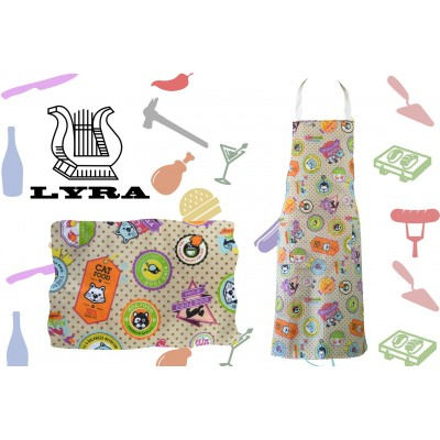 Apron Bib cotton Pets